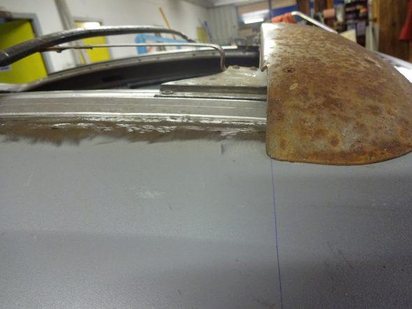 pose d'un toit découvrable VW Coccinelle-108